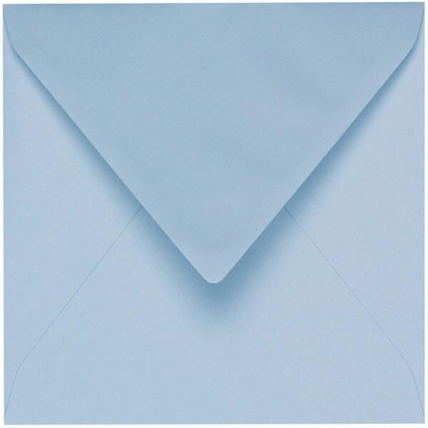 Artoz 1001 - 'Pastel Blue' Envelope. 175mm x 175mm 100gsm Large Square Gummed Envelope.