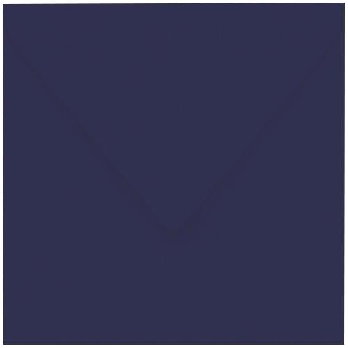 Artoz 1001 - 'Navy Blue' Envelope. 175mm x 175mm 100gsm Large Square Gummed Envelope.