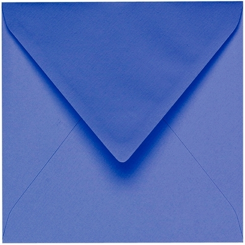 Artoz 1001 - 'Majestic Blue' Envelope. 175mm x 175mm 100gsm Large Square Gummed Envelope.