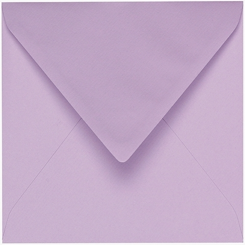 Artoz 1001 - 'Lilac' Envelope. 175mm x 175mm 100gsm Large Square Gummed Envelope.