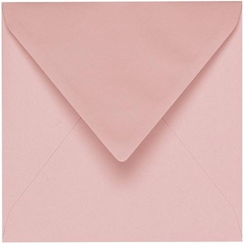 Artoz 1001 - 'Pink' Envelope. 175mm x 175mm 100gsm Large Square Gummed Envelope.