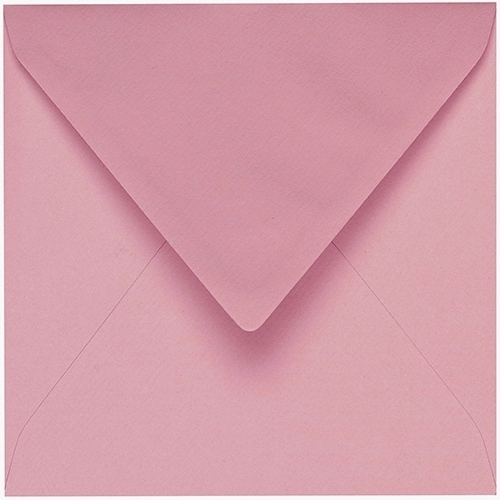 Artoz 1001 - 'Coral' Envelope. 175mm x 175mm 100gsm Large Square Gummed Envelope.