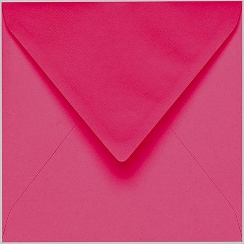 Artoz 1001 - 'Fuchsia' Envelope. 175mm x 175mm 100gsm Large Square Gummed Envelope.