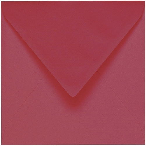 Artoz 1001 - 'Purple Red' Envelope. 175mm x 175mm 100gsm Large Square Gummed Envelope.