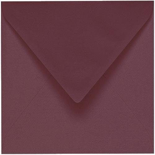 Artoz 1001 - 'Marsala' Envelope. 175mm x 175mm 100gsm Large Square Gummed Envelope.