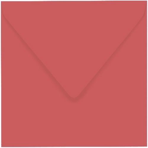 Artoz 1001 - 'Watermelon' Envelope. 175mm x 175mm 100gsm Large Square Gummed Envelope.