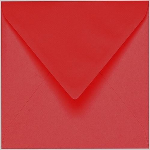 Artoz 1001 - 'Red' Envelope. 175mm x 175mm 100gsm Large Square Gummed Envelope.