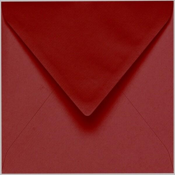 Artoz 1001 - 'Bordeaux' Envelope. 175mm x 175mm 100gsm Large Square Gummed Envelope.