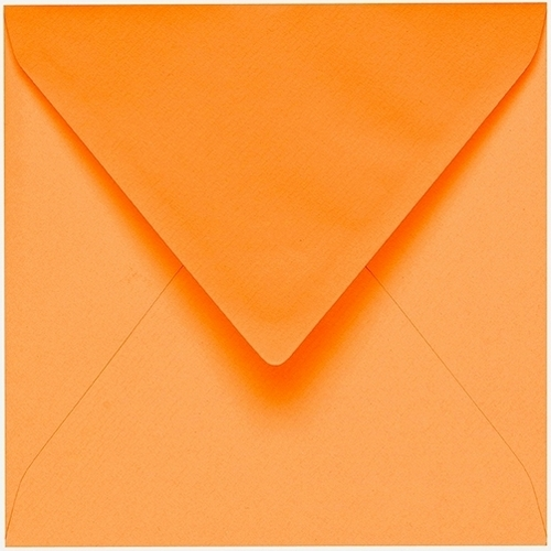Artoz 1001 - 'Mango' Envelope. 175mm x 175mm 100gsm Large Square Gummed Envelope.