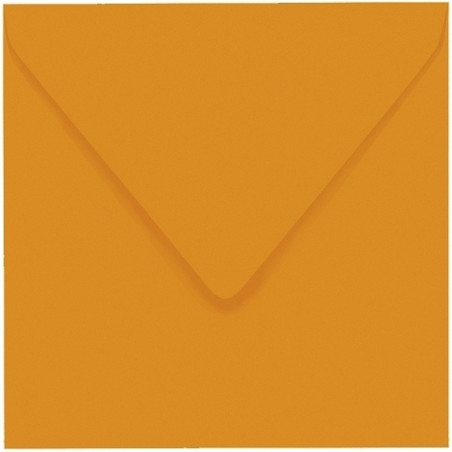 Artoz 1001 - 'Mandarin' Envelope. 175mm x 175mm 100gsm Large Square Gummed Envelope.