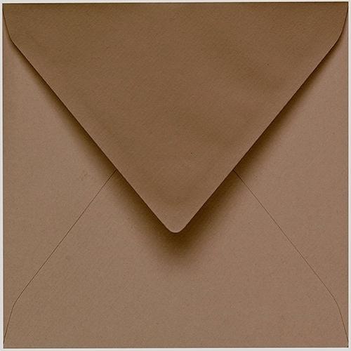 Artoz 1001 - 'Olive' Envelope. 175mm x 175mm 100gsm Large Square Gummed Envelope.