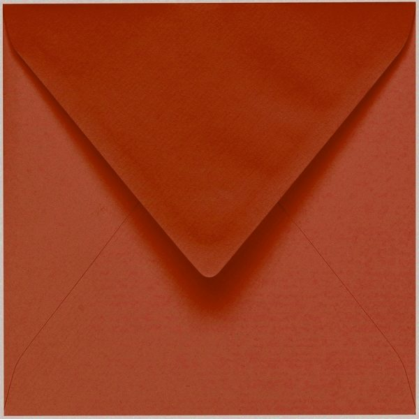 Artoz 1001 - 'Copper' Envelope. 175mm x 175mm 100gsm Large Square Gummed Envelope.