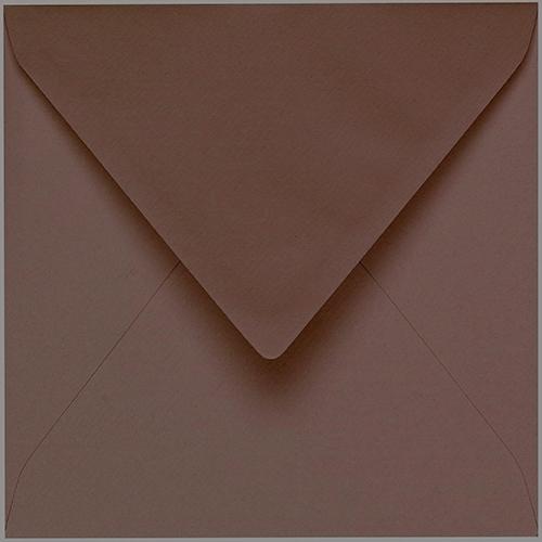 Artoz 1001 - 'Brown' Envelope. 175mm x 175mm 100gsm Large Square Gummed Envelope.