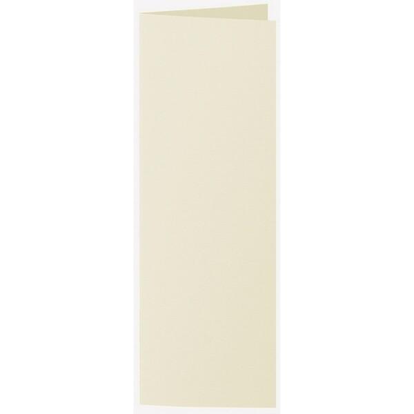 Artoz 1001 - 'Crema' Card. 148mm x 210mm 220gsm Letterbox Folded (Long Edge) Card.