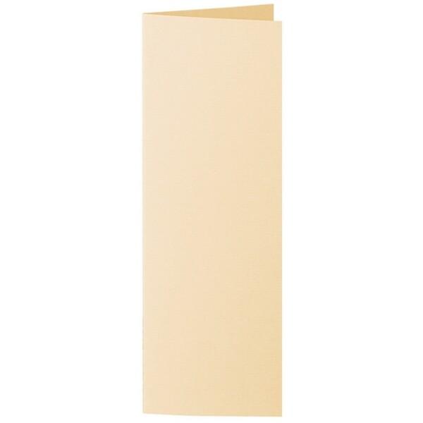 Artoz 1001 - 'Honey Yellow' Card. 148mm x 210mm 220gsm Letterbox Folded (Long Edge) Card.