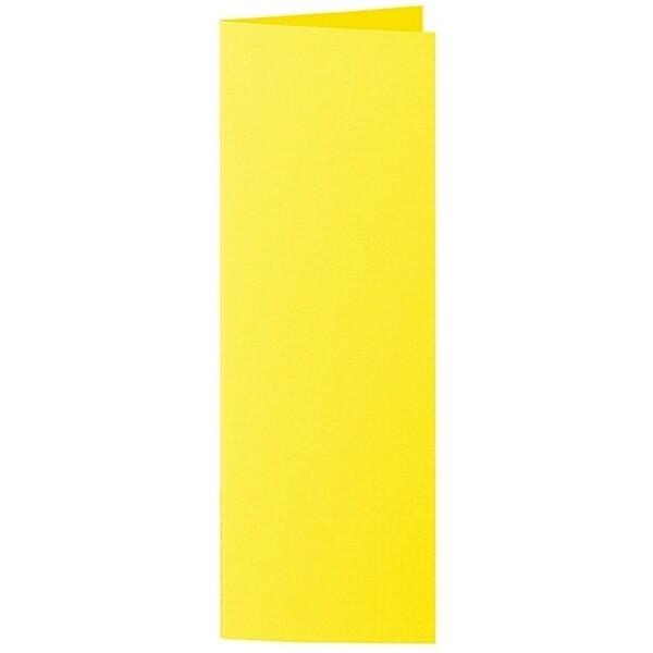 Artoz 1001 - 'Corn Yellow' Card. 148mm x 210mm 220gsm Letterbox Folded (Long Edge) Card.