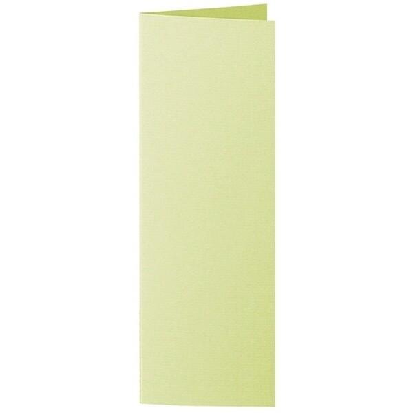 Artoz 1001 - 'Lime' Card. 148mm x 210mm 220gsm Letterbox Folded (Long Edge) Card.