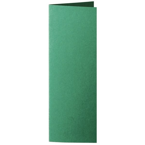 Artoz 1001 - 'Racing Green' Card. 148mm x 210mm 220gsm Letterbox Folded (Long Edge) Card.