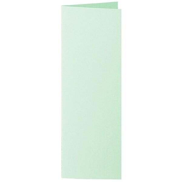 Artoz 1001 - 'Pale Mint' Card. 148mm x 210mm 220gsm Letterbox Folded (Long Edge) Card.
