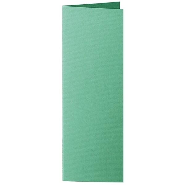 Artoz 1001 - 'Firtree Green' Card. 148mm x 210mm 220gsm Letterbox Folded (Long Edge) Card.