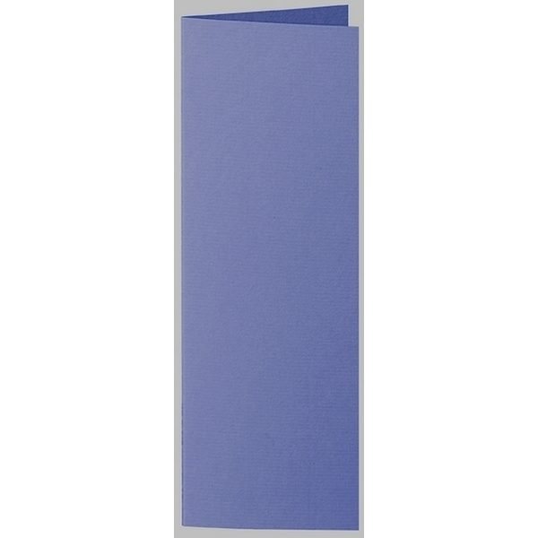 Artoz 1001 - 'Indigo' Card. 148mm x 210mm 220gsm Letterbox Folded (Long Edge) Card.