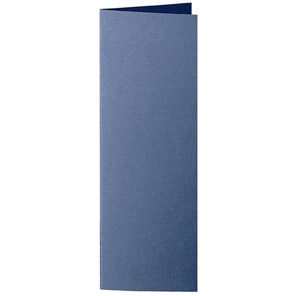 Artoz 1001 - 'Classic Blue' Card. 148mm x 210mm 220gsm Letterbox Folded (Long Edge) Card.