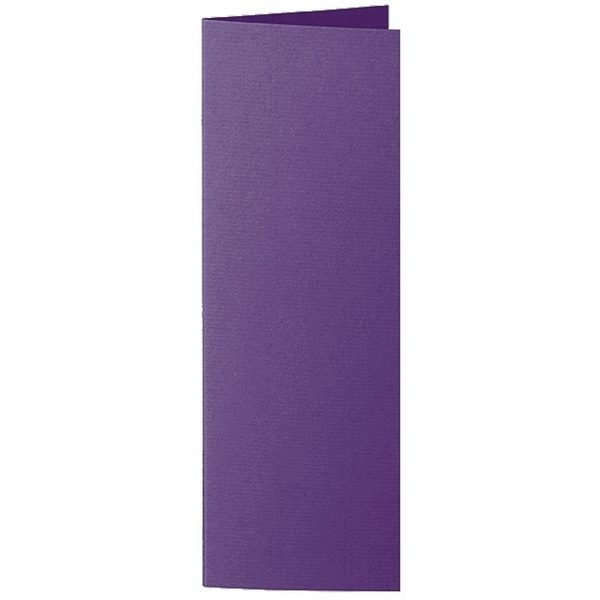 Artoz 1001 - 'Violet' Card. 148mm x 210mm 220gsm Letterbox Folded (Long Edge) Card.