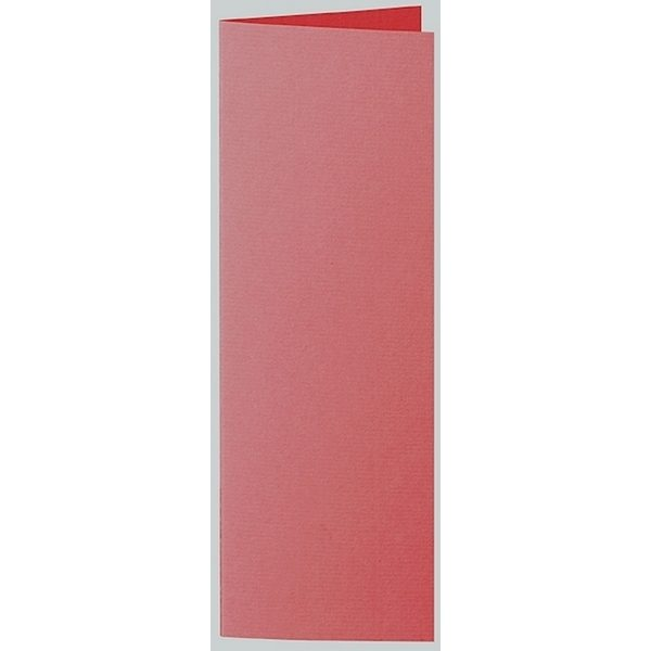 Artoz 1001 - 'Red' Card. 148mm x 210mm 220gsm Letterbox Folded (Long Edge) Card.