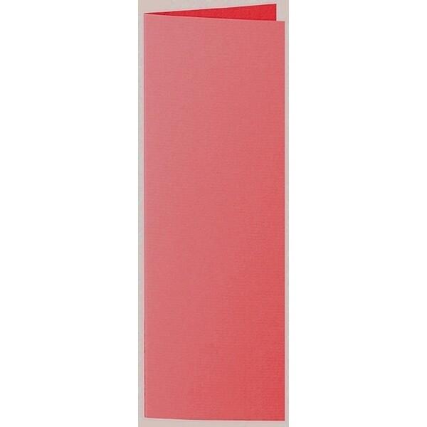 Artoz 1001 - 'Light Red' Card. 148mm x 210mm 220gsm Letterbox Folded (Long Edge) Card.