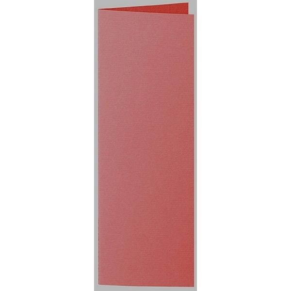 Artoz 1001 - 'Fire Red' Card. 148mm x 210mm 220gsm Letterbox Folded (Long Edge) Card.