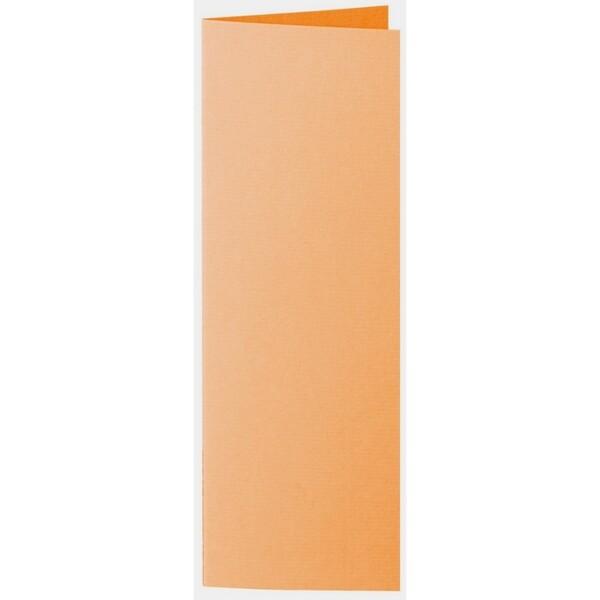 Artoz 1001 - 'Orange' Card. 148mm x 210mm 220gsm Letterbox Folded (Long Edge) Card.