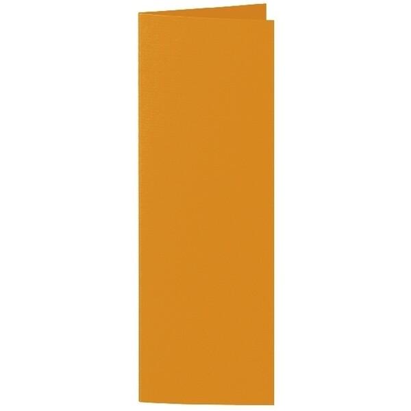 Artoz 1001 - 'Mandarin' Card. 148mm x 210mm 220gsm Letterbox Folded (Long Edge) Card.
