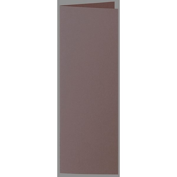 Artoz 1001 - 'Brown' Card. 148mm x 210mm 220gsm Letterbox Folded (Long Edge) Card.
