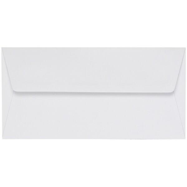 Artoz 1001 - 'Blossom White' Envelope. 216mm x 80mm 100gsm Letterbox Peel/Seal Envelope.