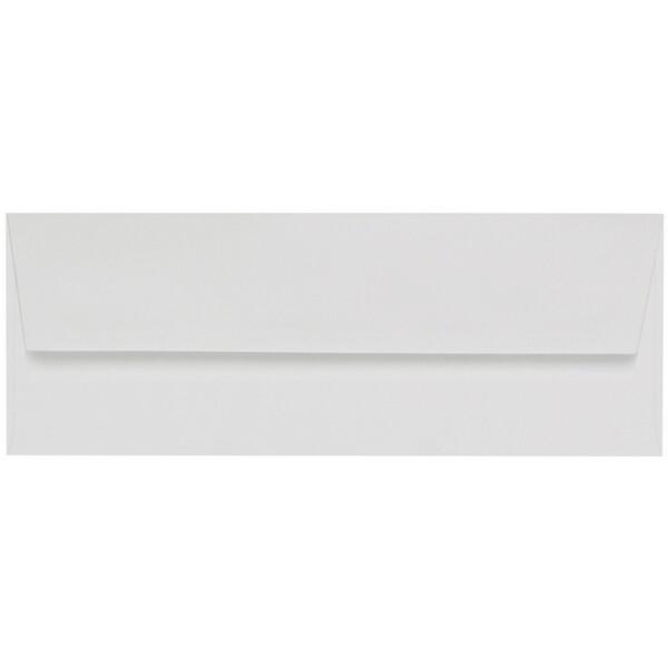Artoz 1001 - 'Bianco White' Envelope. 216mm x 80mm 100gsm Letterbox Peel/Seal Envelope.