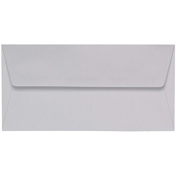 Artoz 1001 - 'Light Grey' Envelope. 216mm x 80mm 100gsm Letterbox Peel/Seal Envelope.