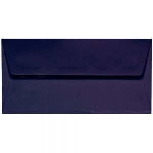 Artoz 1001 - 'Jet Black' Envelope. 216mm x 80mm 100gsm Letterbox Peel/Seal Envelope.