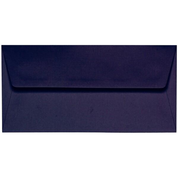 Artoz 1001 - 'Jet Black' Envelope. 216mm x 80mm 100gsm Letterbox Peel/Seal Envelope.