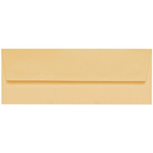 Artoz 1001 - 'Honey Yellow' Envelope. 216mm x 80mm 100gsm Letterbox Peel/Seal Envelope.
