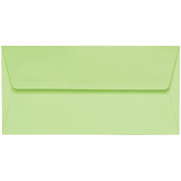 Artoz 1001 - 'Birchtree Green' Envelope. 216mm x 80mm 100gsm Letterbox Peel/Seal Envelope.