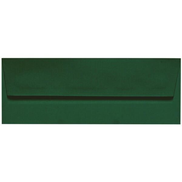 Artoz 1001 - 'Racing Green' Envelope. 216mm x 80mm 100gsm Letterbox Peel/Seal Envelope.