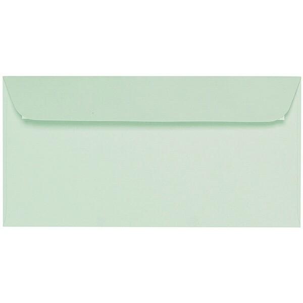 Artoz 1001 - 'Pale Mint' Envelope. 216mm x 80mm 100gsm Letterbox Peel/Seal Envelope.