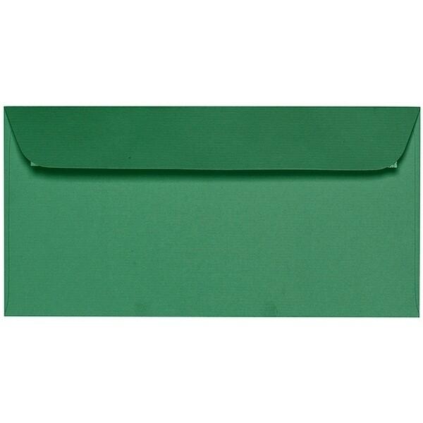 Artoz 1001 - 'Firtree Green' Envelope. 216mm x 80mm 100gsm Letterbox Peel/Seal Envelope.