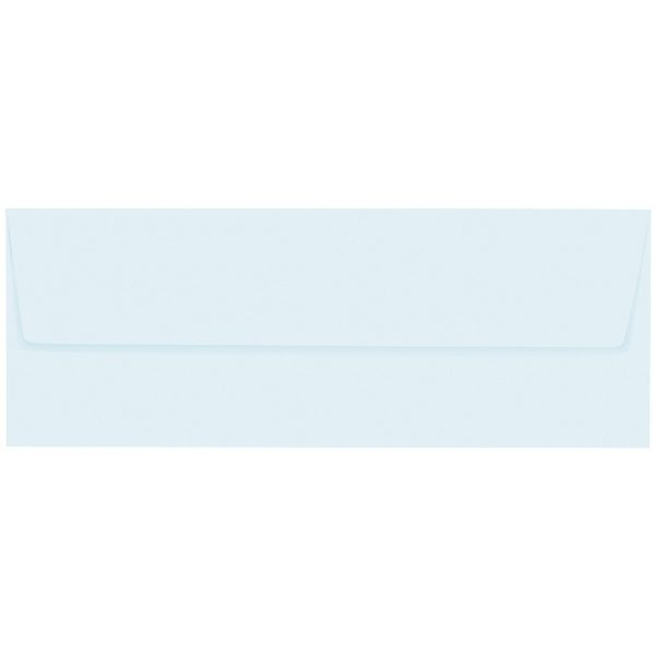 Artoz 1001 - 'Light Blue' Envelope. 216mm x 80mm 100gsm Letterbox Peel/Seal Envelope.