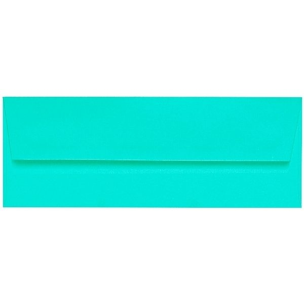 Artoz 1001 - 'Emerald Green' Envelope. 216mm x 80mm 100gsm Letterbox Peel/Seal Envelope.