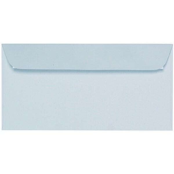 Artoz 1001 - 'Sky Blue' Envelope. 216mm x 80mm 100gsm Letterbox Peel/Seal Envelope.