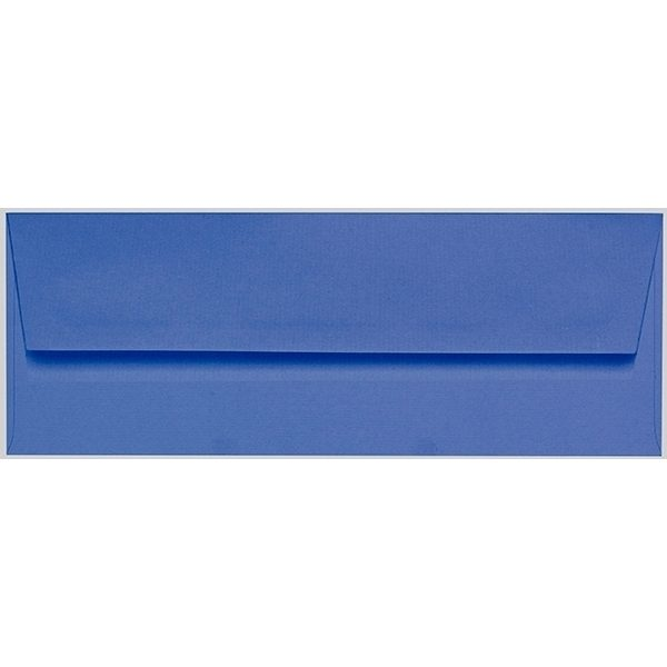 Artoz 1001 - 'Royal Blue' Envelope. 216mm x 80mm 100gsm Letterbox Peel/Seal Envelope.