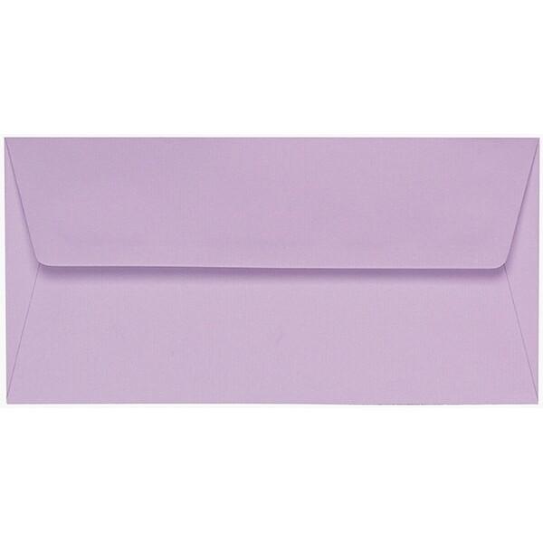 Artoz 1001 - 'Lilac' Envelope. 216mm x 80mm 100gsm Letterbox Peel/Seal Envelope.