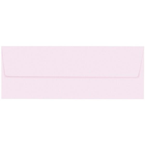 Artoz 1001 - 'Delicate Pink' Envelope. 216mm x 80mm 100gsm Letterbox Peel/Seal Envelope.