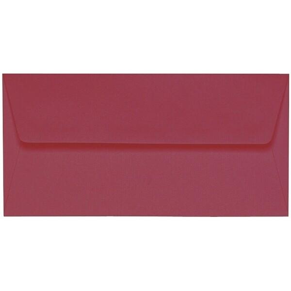 Artoz 1001 - 'Purple Red' Envelope. 216mm x 80mm 100gsm Letterbox Peel/Seal Envelope.